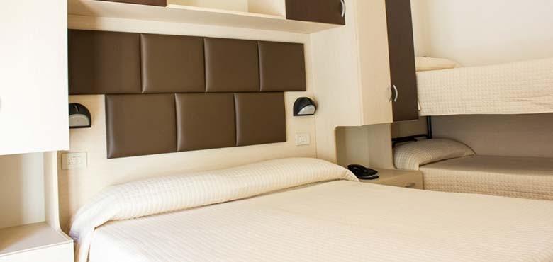 Stanza Hotel 3 stelle Rivazzurra di Rimini