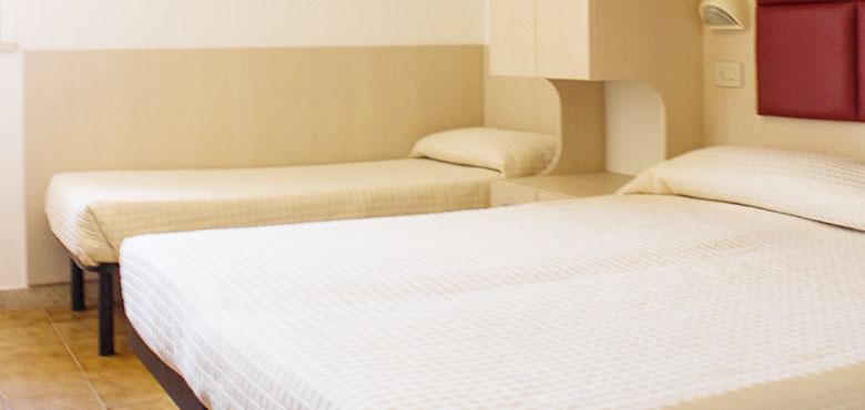 Camera Tripla Hotel 3 stelle Rivazzurra di Rimini