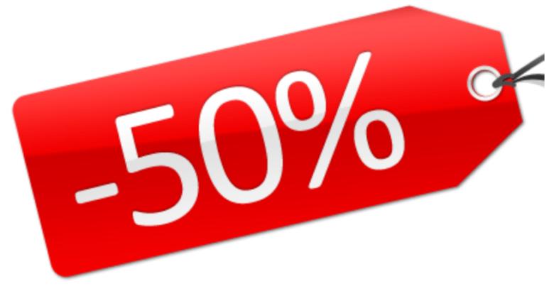 Super Offerta Luglio -50%